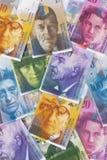 Franc suisse Photo stock