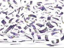 Franc suisse en baisse illustration libre de droits