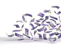 Franc suisse volant illustration libre de droits