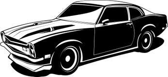 Franc-tireur noir et blanc illustration de vecteur