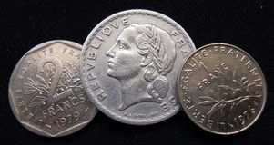 Franc trio Royalty Free Stock Photo