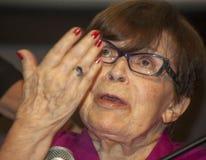 Franca Valeri fotografia stock