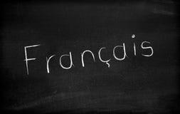 Francais Images stock