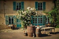 Francais do maison do La (casa francesa) imagens de stock royalty free