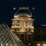 France 01 luwru Paryża Fotografia Stock