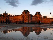 France 02 luwru Paryża Zdjęcie Royalty Free