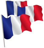 France 3d flag. Stock Photos