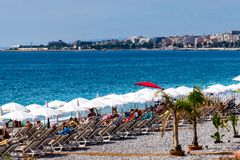 France, agradável: Riviera francês foto de stock royalty free