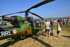 France,  air show of Verneuil sur Seine Royalty Free Stock Image