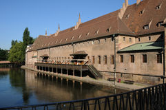 France, Alsace, Ancienne Douane in Strasbourg Royalty Free Stock Photos