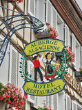 France, Alsace, picturesque old old village of Eguisheim Royalty Free Stock Photo