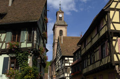 France, Alsace, Riquewihr Royalty Free Stock Images