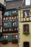 France, Alsace, Riquewihr Royalty Free Stock Photos
