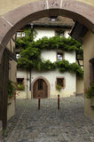France, Alsace, Riquewihr. France, the small village of Riquewihr in Alsace Stock Photos
