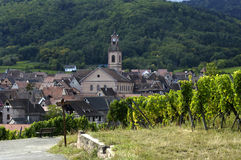 France, Alsace, Riquewihr Stock Photography