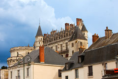 France. Amboise castle Stock Photo