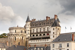 France. Amboise castle.valley of the river Loire Royalty Free Stock Photos