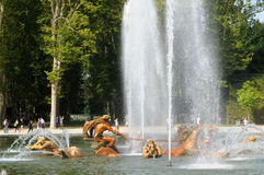 France, Apollo fountain in the Versailles Palace park Stock Photography