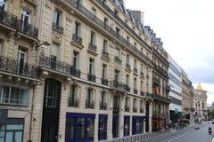 France architekturę Paris stara mieszkaniowa typowa street Fotografia Royalty Free