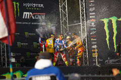 France as Champions Motocross of Nations 2014 Stock Image