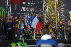 France as Champions Motocross of Nations 2014 Stock Photography