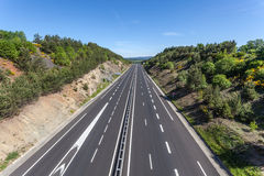 france autostrada Zdjęcie Stock