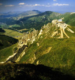 France auvergne. The summit of the puy de sancy - highest point of the massif central Stock Photos