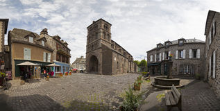 France, Auvergne,Salers. Royalty Free Stock Photos