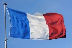 France, bandeira imagem de stock