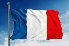 France bandery Obrazy Royalty Free