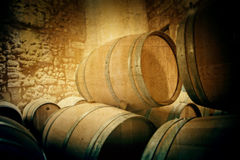 France barrels Stock Photos