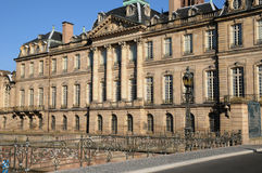 France, Bas Rhin, Le Palais Rohan in Strasbourg Stock Photo