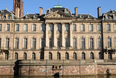 France, Bas Rhin, Le Palais Rohan in Strasbourg Stock Photography