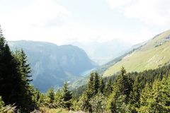 france berg royaltyfri bild