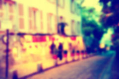 France blur background Stock Photo