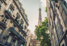 France blur background Royalty Free Stock Images