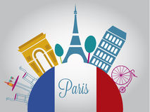 France bonito Imagem de Stock Royalty Free