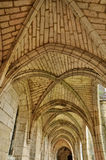 France, Brantome abbey church in Dordogne Royalty Free Stock Images