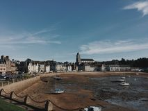France Brittany. San Malo City Royalty Free Stock Image