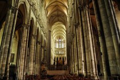 France Burgundy church Stock Photos