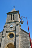 France, Cales church in Lot Stock Image