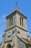 France, Cales church in Lot Stock Photo