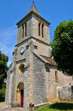 France, Cales church in Lot Royalty Free Stock Photography