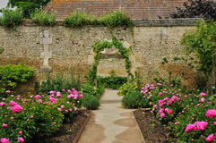 Free France, Canon Castle Garden In Normandie Stock Photo - 36736560