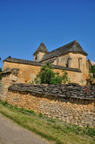 France, the Carlucet church in Perigord Royalty Free Stock Image