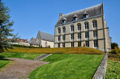 France, castle of Argentan in Normandie Royalty Free Stock Photos