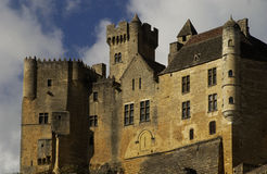 France, castle of Beynac Royalty Free Stock Images