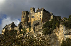France, castle of Beynac Stock Image