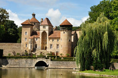 France, castle in Champagne region 1 Stock Photo