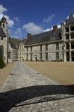 France, castle of Chateaudun Stock Photos